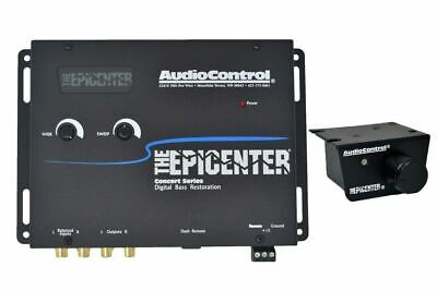 AudioControl Epicenter Digital Bass Restoration Processor -BLACK+ Knob NEW