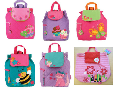 2706063e3e75 STEPHEN JOSEPH GIRLS Quilted Backpack and Lunch Box for Kids - Cute ...