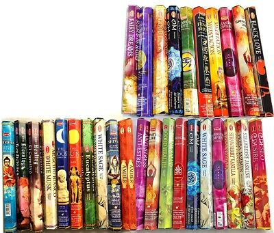 10 Pack/200Sticks HEM Incense Stick Incense sticks Home Fragrance Assorted