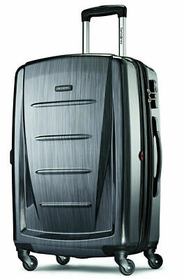 Samsonite Winfield 2 Hardside Luggage with Spinner Wheels Charcoal..... New