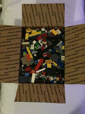 5+ Lb Bulk Lot of Loose LEGO And Other Compatible Bricks And Pieces - FULL BOX