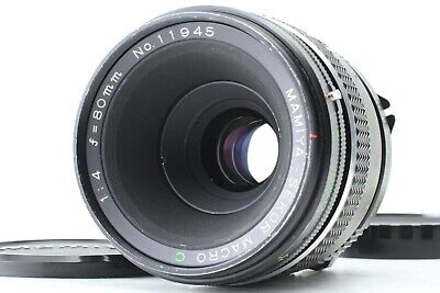 [Exc+++++] MAMIYA SEKOR MACRO C 80mm f4 for 645 PRO SUPER TL from Japan 1733