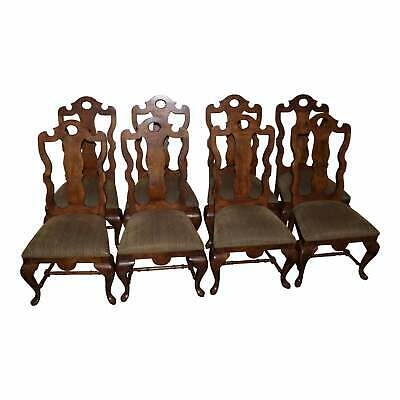 8 Century Brand Side Dining Chairs Mediterranean Italian Traditional Vintage