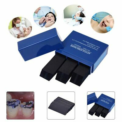 300 Sheets/Box Dental Articulating Paper Dental Lab Products Teeth Care Strips