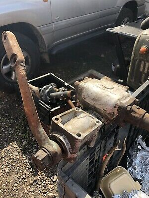 Steering Box & Column from Vintage Car. In Good Condition.
