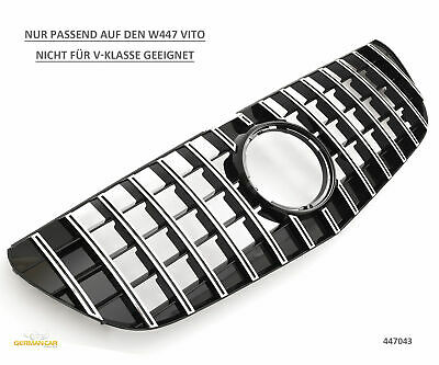 Grille Sport for Mercedes W447 VITO PANAMERICANA AMG LOOK