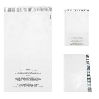 """100 Pack 5 X 7"""" Suffocation Warning Self Sealing Clear Poly Bags Shipping Mail"""
