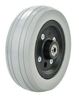 2x 8″ x 2″ Castor Wheel for electric wheelchair and Power Chair