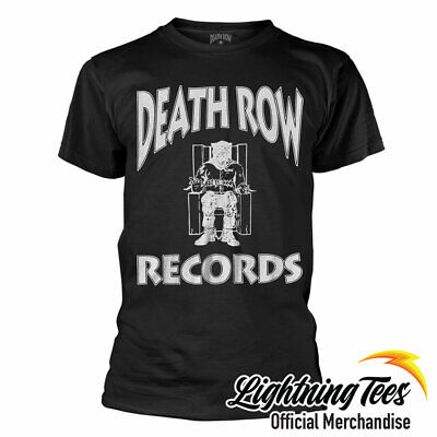 Official Death Row Records Hip Hop Tupac Snoop Dog Dr Dre Band T-Shirt