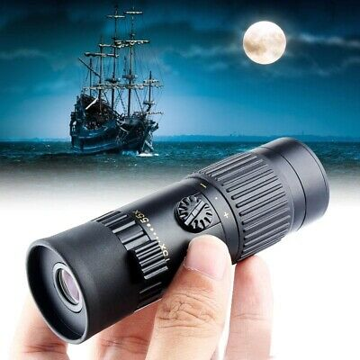 Hot Mini 15-55X21 Zoom Monocular Adjustable Telescope Scope Hunting Camping