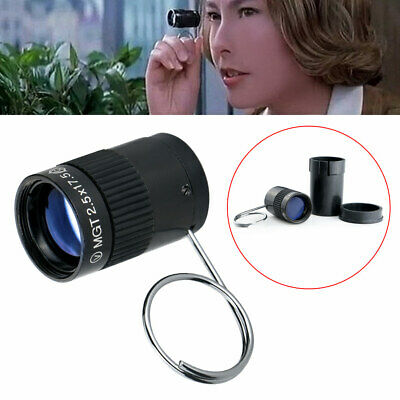 Hot New Mini Pocket Key Chain Monocular Telescope for Hiking Camping Sports