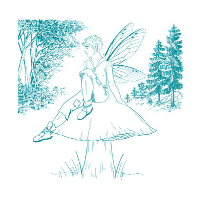 New Screen Sensation Mesh Screen Mischief Fairy 23cm x 23cm 460663