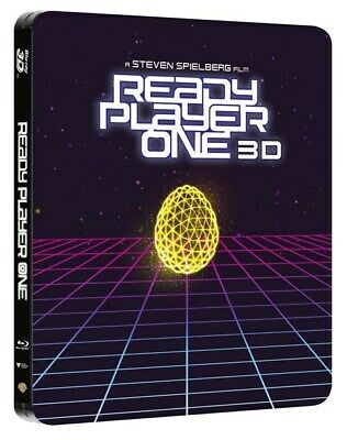 Ready Player One (Limited Edition Steelbook) [Bluray 3D+2D+Download]Sb5 - New