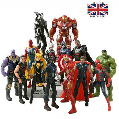 Avengers 4 Infinity War Marvel Super Hero PVC Action Figure Toys 21pcs/set Child