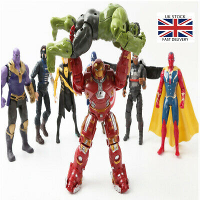 21Pc Avengers 4 Infinity War Marvel Super Hero PVC Action Figure Toys Gifts Kids