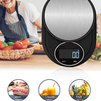 Supplies 5kg/1g Digital Electronic Kitchen Food Diet Postal Scale Weight MMB