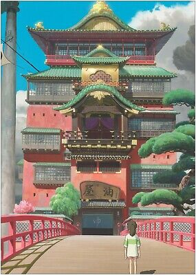 Spirited Away Anime Classic Movie Large Poster or Canvas Art Print Maxi A1 A2 A3