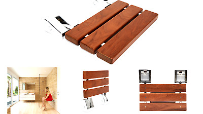 Brilliant Kenley Folding Shower Seat Wooden Wall Mounted Bench Onthecornerstone Fun Painted Chair Ideas Images Onthecornerstoneorg