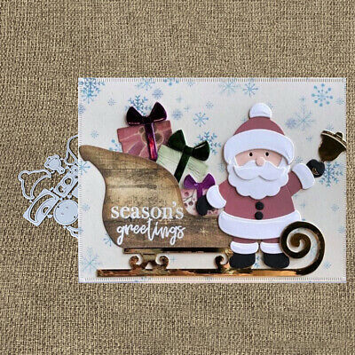 Christmas Santa Metal Cutting Dies DIY Scrapbook Emboss Paper Cards Craft Decor*