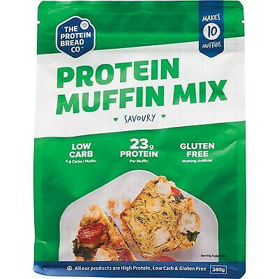 The Protein Bread Co Protein Muffin Mix 340g
