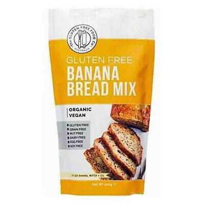 The Gluten Free Food Co. Organic Gluten Free Banana Bread Mix 400g