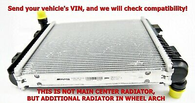 New Oem Mercedes Benz W205 C63 Amg Engine Water Cooler Radiator A0995005903