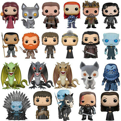 Game of Thrones Character Action Figure Model Toy PVC Vinyl Boxed Funko Gift