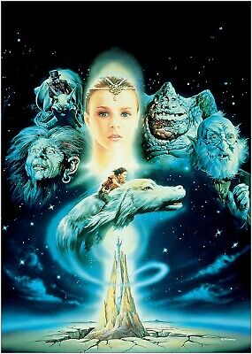 The Neverending Story Movie Large Poster or Canvas Art Print Maxi A1 A2 A3 A4