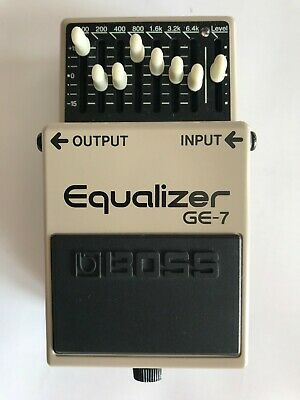 BOSS GE-7 EQUALIZER Pedal DIY Mod Kit for Boss pedal - Pedal