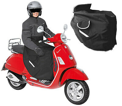 New Urban Motorcycle Scooter Fleeced Lined Water Resistant Leg Cover Apron