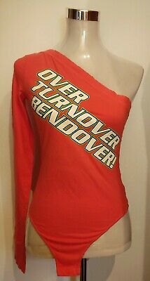 T-SHIRT  body woman  vintage 90's DSQUARED 2 TG.S made Italy NEW!  Rare