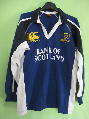 Maillot Rugby Leinster Canterbury Vintage Bank Scotland Enfant jersey - 12 ans