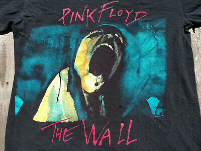 PINK FLOYD 2010 THE WALL T Shirt MENS M Screaming Face