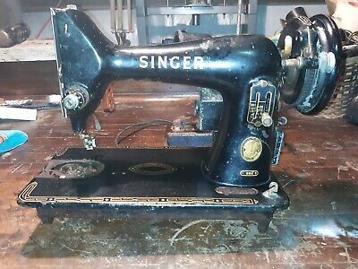 Vintage Singer Sewing Machine runs