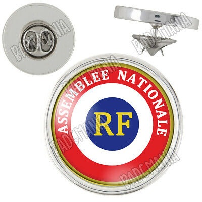 Pin's Pins Badge Cocarde RF Assemblée Nationale