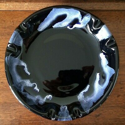 Vintage Blue Mountain Pottery Canada BMP ~ Large Ashtray Dish ~ Granite Glaze
