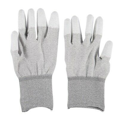 1X(Anti Static Anti Skid ESD Electronic Labor Working Glove PC Computer Rep I7A8