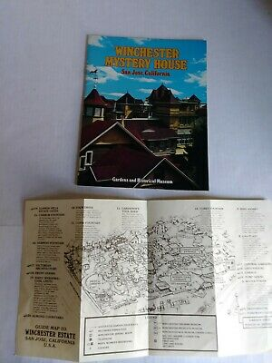 Winchester mystery house San Jose Calif Tour Guide/Brochure