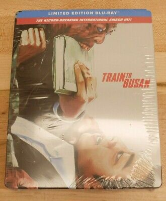 Train To Busan [Blu-ray] Steelbook Limited Edition, New Sealed, Free Shipping L3