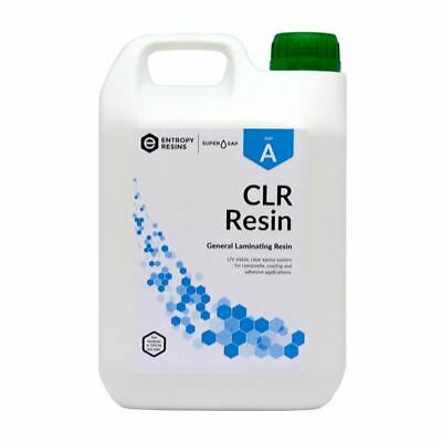 West System Entropy Super Sap Clear Laminating Epoxy Resin CLR 1kg Bottle.