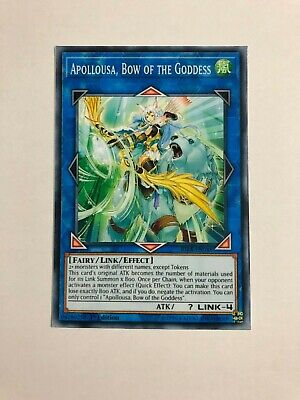 1x Proxy Fake Yu-gi-oh Apollousa, Bow of the Goddess Common Premium Paper