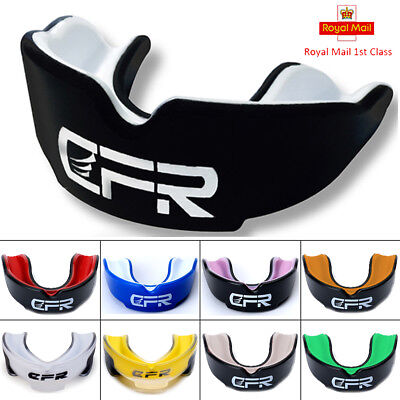 CFR Gel Gum Shield Mouth Guard Kids Junior MMA Boxing Rugby Teeth Protection GW