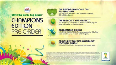 Xbox-FIFA - World Cup Brazil 2014: Champions Edition /X360 GAME NEW