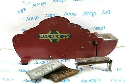 Vintage Packer 3-S Tape Dispenser With Brush And Few Other Pieces