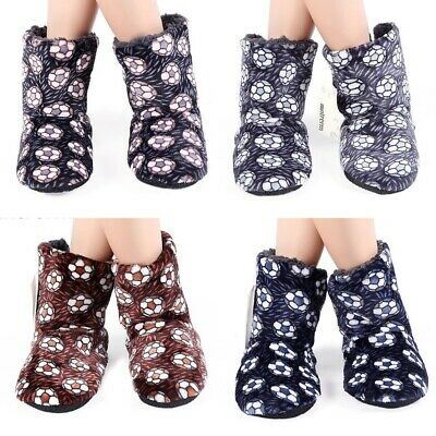 Large Size Winter Home Slippers Floor Plush Warm Cotton Men Indoor Flat Shoes