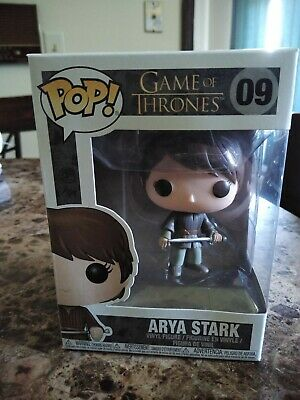 Funko Pop! Game of Thrones ARYA STARK #09  Vinyl Figure NIB HBO Vault