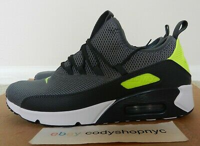New NIKE AIR MAX 90 SD SUNSET BLACKCOOL GREY VOLT MEN'S Size 10 [724763 005]