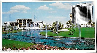 Huge Dunes Hotel & Casino Country Club Vintage Jumbo Postcard Las Vegas Nevada t
