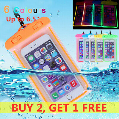 30M Underwater Waterproof Phone Case Dry Bag Pouch For iPhone Samsung Huawei UK