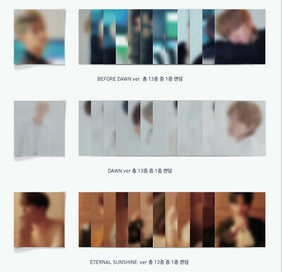 Seventeen - 6Th Mini Album You Made My Dawn Lenticular Card Dino Dk Hoshi Joshua